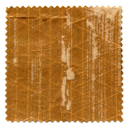 swatch: Grunge brown paper texture swatch useful as a background