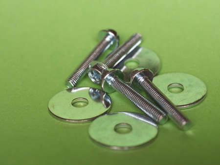 bolts and nuts: Steel bolts fasteners and washers industrial hardware