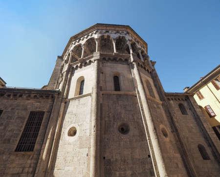Santa Maria Assunta Roman Catholic cathedral church in Como, Italy Stock Photo