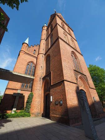Propsteikirche Herz Jesu (Church of the Sacred Heart of Jesus) in Luebeck, Germany