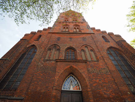 giles: St Aegidien (St Giles) church in Luebeck, Germany
