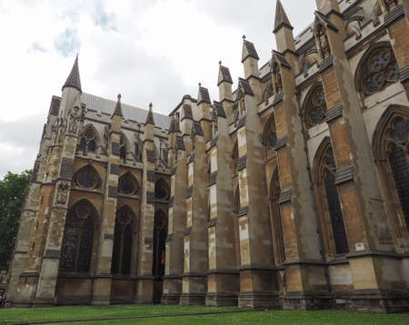 The Westminster Abbey anglican church in London, UK Editorial