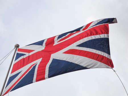 bandiera nazionale del Regno Unito (UK) aka Union Jack Archivio Fotografico