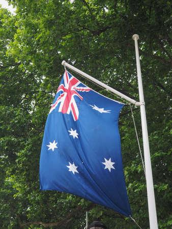 the Australian national flag of Australia, Oceania