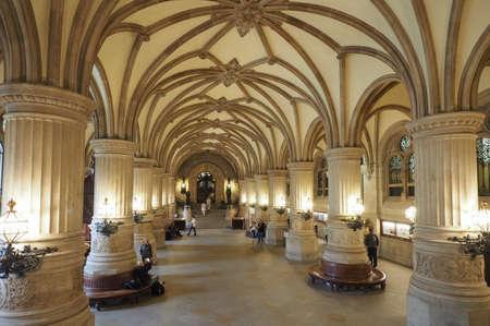 HAMBURG, GERMANY - CIRCA MAY 2017: Hamburg Rathaus (city hall) in the Altstadt (old city) Editorial