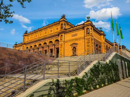 HAMBURG, GERMANY - CIRCA MAY 2017: Hamburg Kunsthalle art museum, hdr