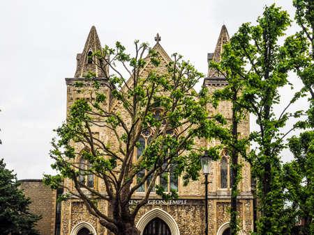 Kensington Temple Pentecostal kerk in Notting Hill in Londen, Groot-Brittannië (hoog dynamisch bereik) Stockfoto