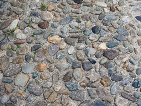 pepples: grey stone floor useful as a background