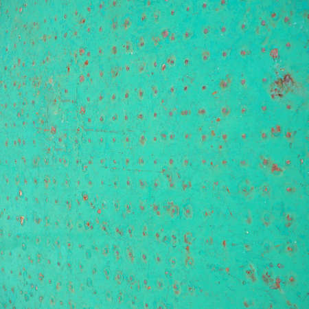 green steel metal texture useful as a background Stock Photo