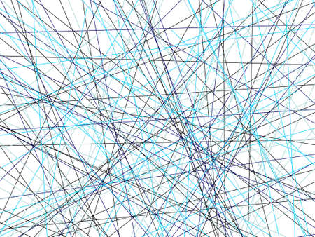 abstract geometric background made of blue and black lines