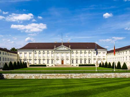Schloss Bellevue, Berlin - historical baroque royal palace