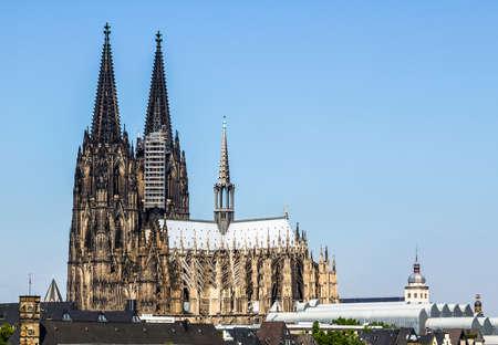 ケルナー・ドム(ケルン大聖堂)(ドイツ、ケルネ) 写真素材