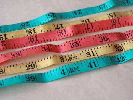 Tailor tape ruler in Cun aka the Chinese Inch measuring unit