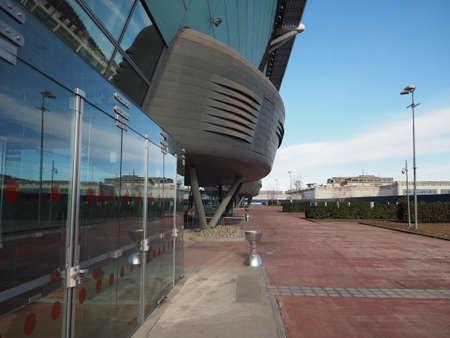 TORINO, ITALIA - CIRCA GENNAIO 2018: arena coperta ovale Lingotto