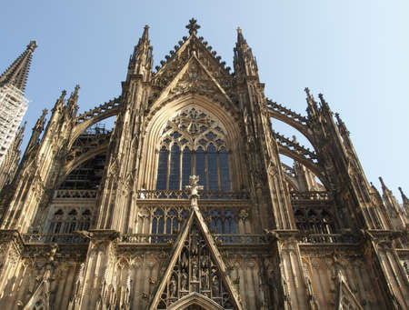 Koelner Dom gothic cathedral church in Koeln, Germany