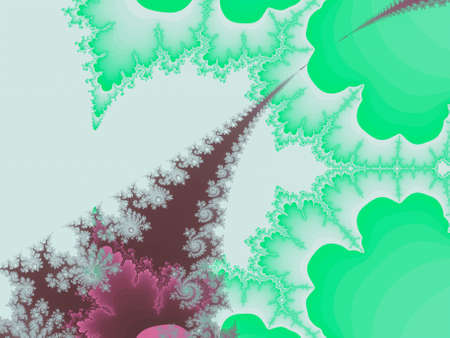 abstract fractal illustration useful as a background vintage retro colours Stock Photo