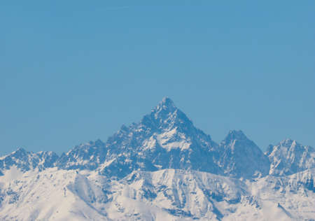 Monte Viso or Monviso is the highest mountain of the Cottian Alps in Italy