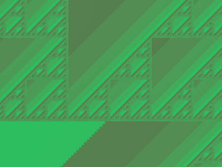 Spring green abstract fractal illustration useful as a background vintage retro colours