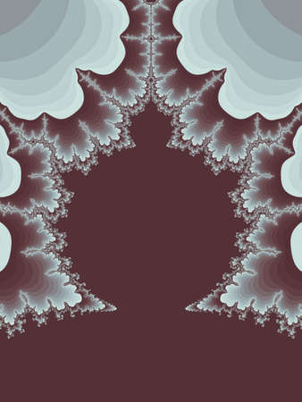 Greyscale abstract fractal illustration useful as a background vintage retro colours