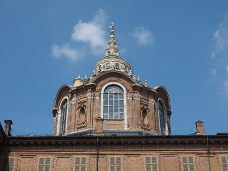 Cappella della Sindone meaning Holy Shroud chapel at Turin Cathedral, Italy