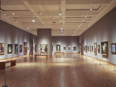 BELFAST, UK - CIRCA JUNE 2018: The Ulster Museum interior