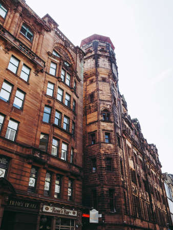 GLASGOW, UK - CIRCA JUNE 2018: The Lighthouse Scotland Centre for Design and Architecture (formerly Glasgow Herald) designed by Charles Rennie Mackintosh