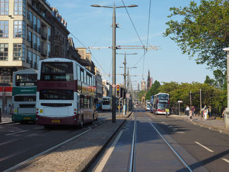 EDINBURGH, UK - CIRCA JUNE 2018: View of the city Editorial