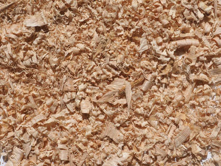Sawdust wood dust byproduct or waste product of woodworking operations such as sawing milling planing routing drilling and sanding composed of fine particles of wood