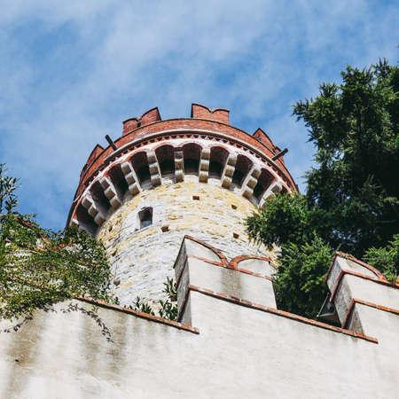 GENOA, ITALY - CIRCA MARCH 2014: Castello dAlberti castle
