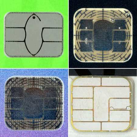 electronic chip used in credit card or debit card