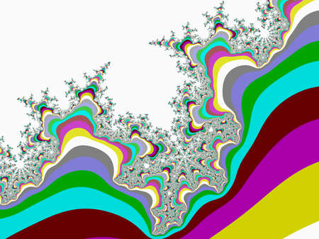abstract fractal illustration useful as a background Фото со стока