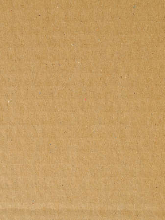 Brown corrugated cardboard useful as a background, soft pastel colour Stock Photo