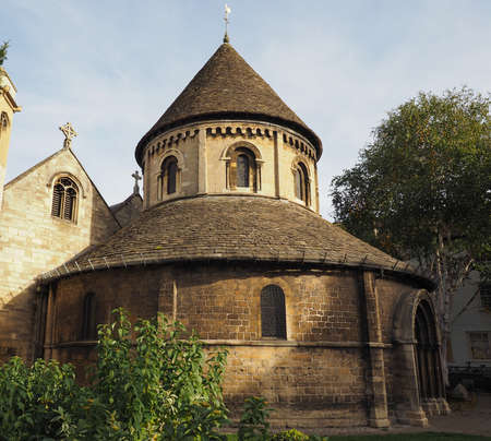 Anglican Church of the Holy Sepulchre aka the Round Church in Cambridge, UK