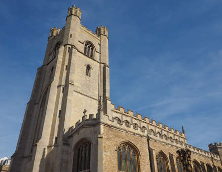 Great St Mary's church in Cambridge, UK