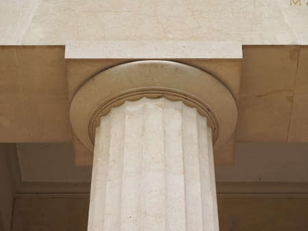 Doric capital (aka chapiter) of a column