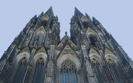 Koelner Dom gothic cathedral church in Köln,  Germany
