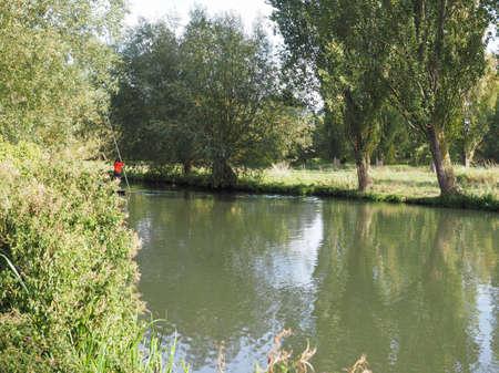 view of River Cam in Cambridge, UK