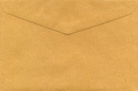 brown paper letter envelope for mail postage