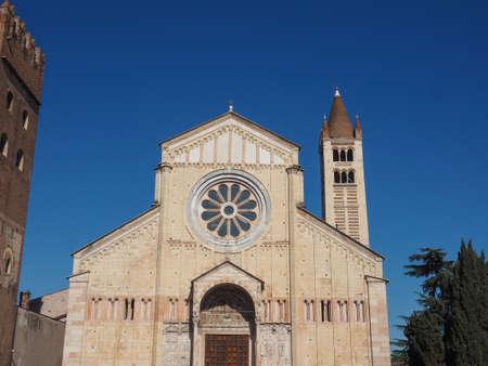 Basilica di San Zeno (aka San Zeno Maggiore or San Zenone) in Verona, Italy