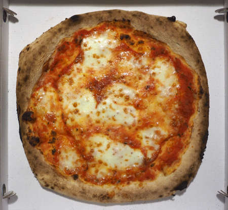 margherita aka margarita pizza traditional Italian baked food