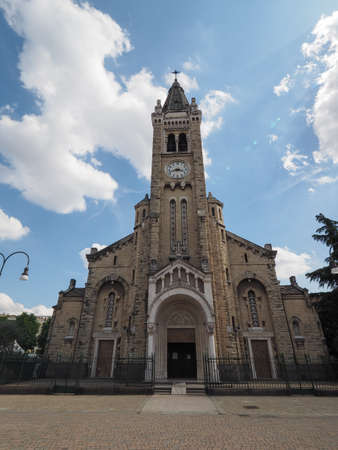 Santa Rita da Cascia (Saint Rita of Cascia) church in Turin, Italy