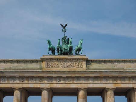 Brandenburger Tor (Brandenburg Gate) in Berlin, Germany