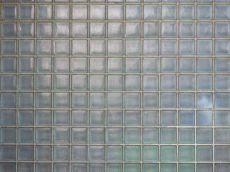 translucent concrete and glass blocks texture useful as a background Banco de Imagens