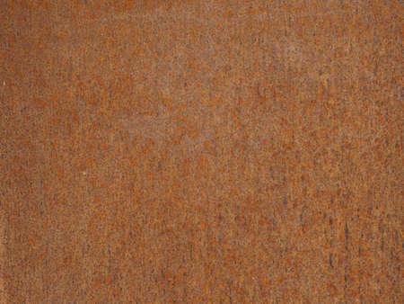 Textura de acero oxidado marrón útil como fondo Foto de archivo
