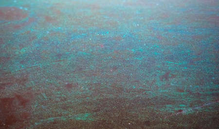 blue green oxidised copper metal texture useful as a background
