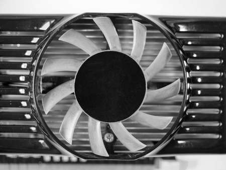 computer fan for graphic card air cooling Imagens
