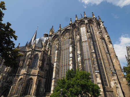 Aachener Dom cathedral church in Aachen, Germany