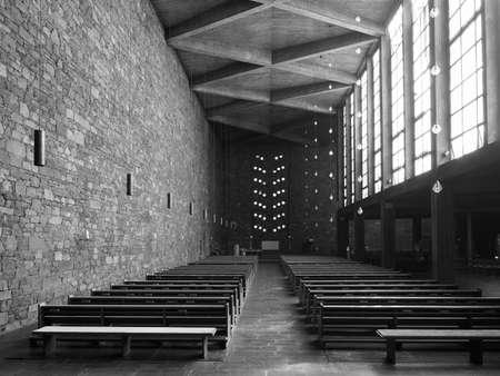 DUEREN, GERMANY - CIRCA AUGUST 2019: Annakirche (meaning St Anne church)