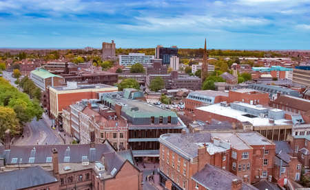 Panoramic view of the city of Coventry, England, UK Reklamní fotografie