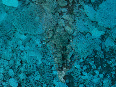 blue underwater scene useful as a background